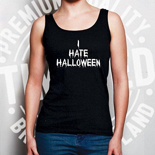 vacanze Tim Blu Marina Halloween Della Gilet Ted Donne Anti Slogan Odio E IwxwpqSrH