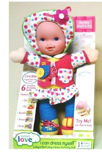 I Can Dress Myself Baby's First Activity Doll Styles Vary