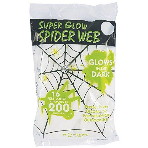 Glow In The Dark Spider Web - 7