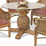 Sunset Reef Indoor Rattan Pineapple Dining Table