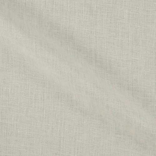 Lino Textile 0562471 100% European Handkerchief Linen White Fabric by the Yard ()