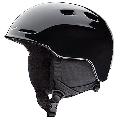 Smith Optics Unisex Youth Zoom Jr Snow Sports Helmet - Black Youth Small (48-53CM)