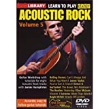 Lick Library: Learn To Play Easy Acoustic Rock - Volume 5 [DVD]