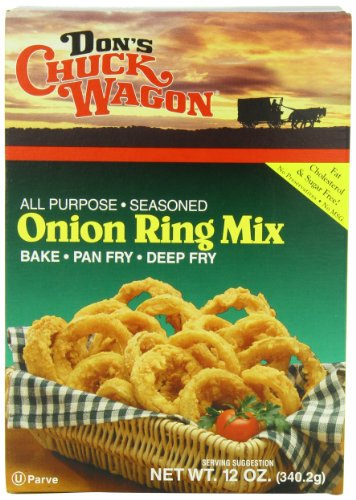 Wagon Barbecue (Don's Chuck Wagon Onion Ring Mix, 12-Ounce (Pack of)