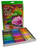 MONT MARTE Soft Pastel Set - 36pce - Art Pastel Colour, Pastel Chalk - Ideal for Colourful and Expressive Painting - Perfect for Beginners, Professionals and Artists