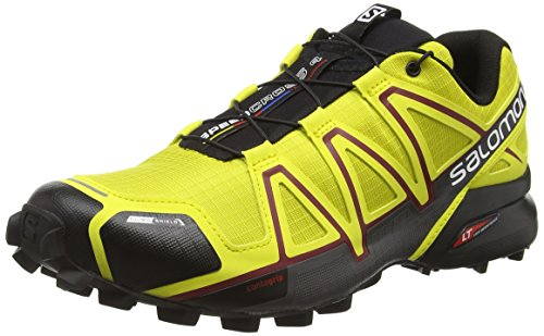 4 Cs Traillaufschuhe Gelb Salomon Herren Speedcross (alpha Giallo Giallo / Corona / Nero)