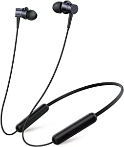 1MORE Piston Fit Wireless Headphones,Bluetooth Neckband Earphone 8H Playtime,IPX4 Sweatproof Earbuds With Mic for Phone Calls,Home Office