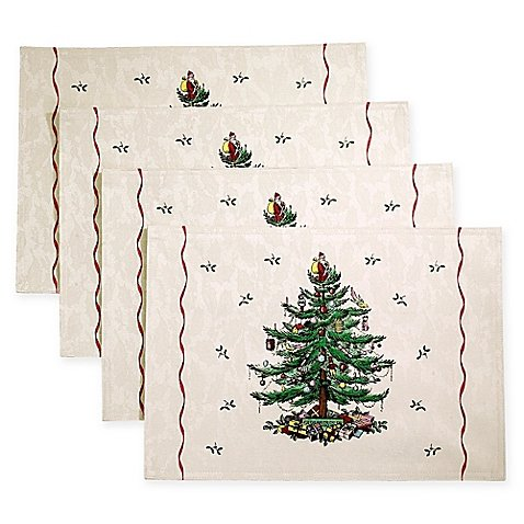 Spode Christmas Tree by Avanti Placemat (Set of 4)