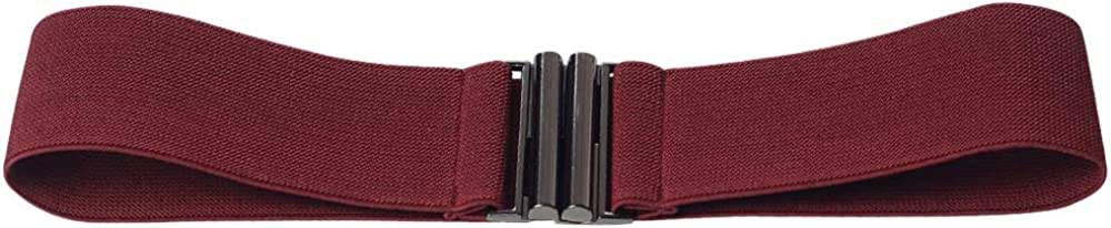Wocharm Women Elastic Dress Belt Elastic Ceinture Wide Tie Wrap Soft Waist Band