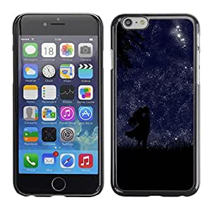 Planetar® ( Night Stars Love Lovers Sky Romantic ) Apple (5.5 inches!!!) iPhone 6+ Plus / 6S+ Plus Fundas Cover Cubre Hard Case Cover