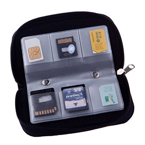 22 Slots Case Pouch Holder for Memory Card Sd Card.memory