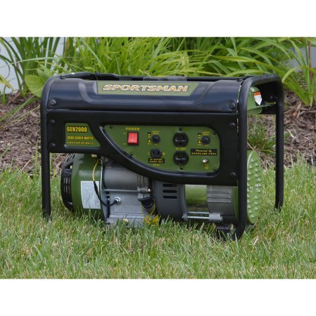 Sportsman Gasoline 2000W Portable Generator with Weatherproof Inverter Generator Cover and Magnetic Oil Dipstick Bundle by Man Sports (Image #1)