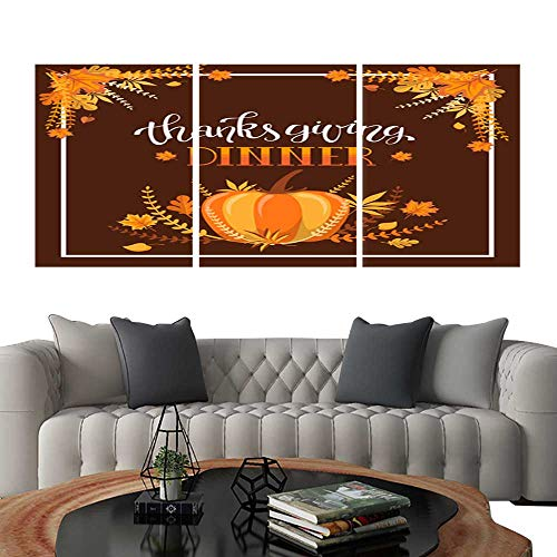 UHOO Pictures Paintings on Canvas WallHandlettering Thanksgiving Dinner Invitation design6. Brick Wall Stickers 24