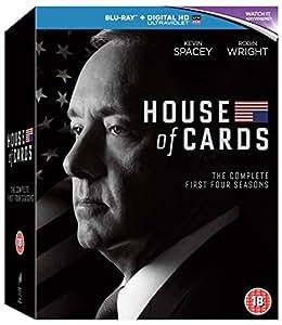 House Of Cards: Seasons 1-4 [Blu-ray]