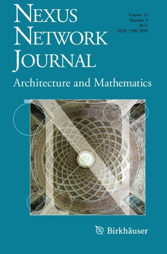 Nexus Network Journal 13,3: Architecture and Mathematics