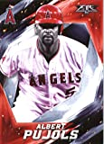 2017 Topps Fire #141 Albert Pujols Los Angeles Angels Baseball Card