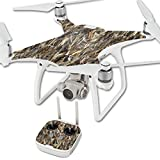MightySkins Protective Vinyl Skin Decal for DJI Phantom 4 Quadcopter Drone wrap Cover Sticker Skins TrueTimber DRT For Sale