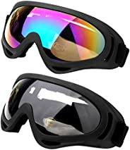 Ski Snowboard Goggles Motorcycle Goggles Protective Combat Goggles