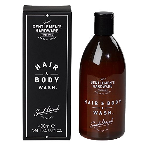 Gentlemens Hardware Apothecary Hair & Body Wash, Sandlewood Scent