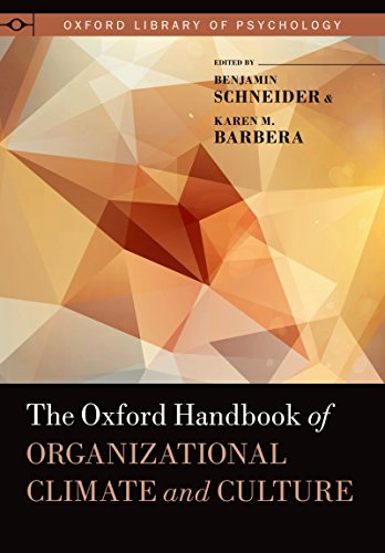 Download The Oxford Handbook of Organizational Climate and Culture (Oxford Library of Psychology) Pdf