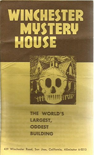 Winchester Mystery House (The World's Largest, Oddest Building) Tour Pamphlet