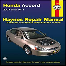 Honda accord 2003 thru 2011 haynes automotive repair manual honda accord 2003 thru 2011 haynes automotive repair manual 1st edition fandeluxe Choice Image