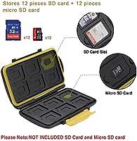 moinkerin Tarjeta SD Funda Estuche Tarjetas SD Tarjetero para Tarjetas Memoria per Schede SD, Schede Micro SD, SD SDHC SDXC: Amazon.es: Electrónica