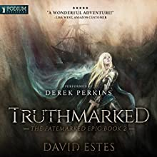 Truthmarked Audiobook by David Estes Narrated by Derek Perkins