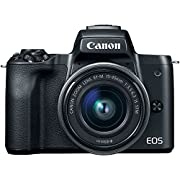 Canon EOS M50 Digital Camera Kit with EF-M 15-45mm IS STM Lens