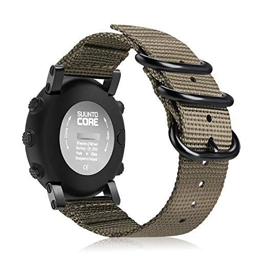 Malla para reloj Suunto Core, color marron claro
