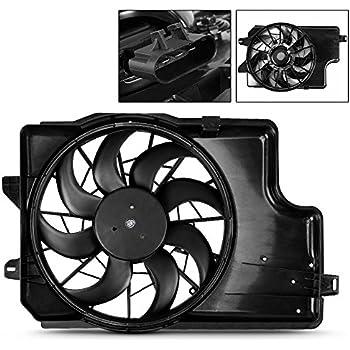 Engine Cooling Fan Assembly-Radiator Fan Assembly fits 94-96 Mustang 3.8L-V6