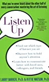 img - for Listen Up: What You've Never Heard About the Other Half of Every Conversation: Mastering the Art of Listening by Larry L. Barker (2001-10-05) book / textbook / text book
