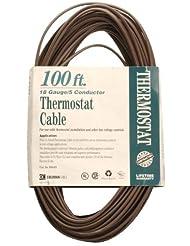Coleman Cable 09635 CL2 Bulk Thermostat Cable, 18-Gauge 5-Con...