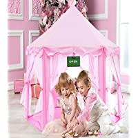 Play Kreative Pink Princess Castle Tent with Carry Case....