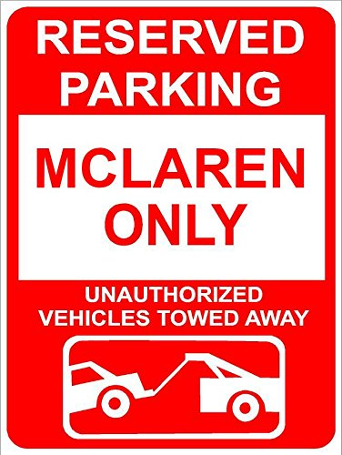 Family Reserved Parking Sign (9