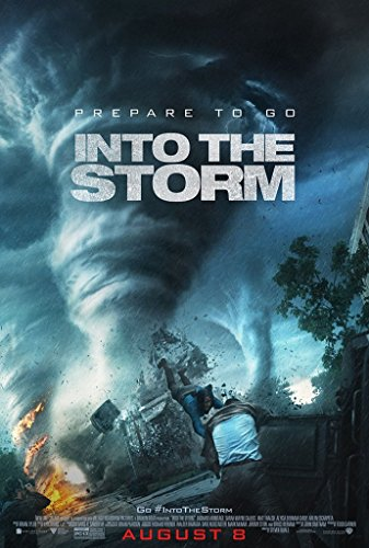 Into The Storm Movie Poster 2 Sided Original Final Richard Armitage