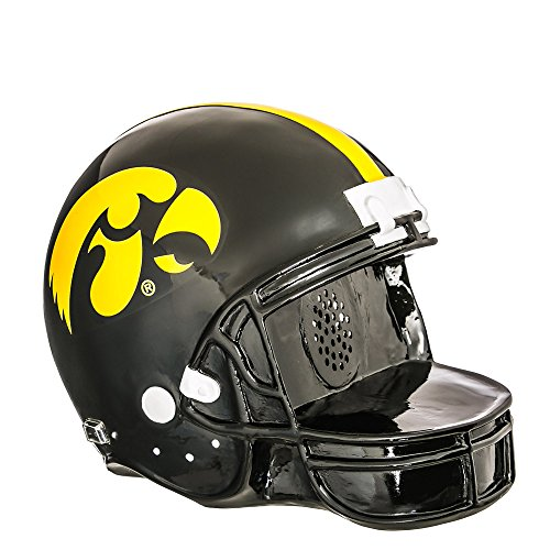 Team Sports America Iowa Hawkeyes Helmet Bluetooth Speaker by Team Sports America
