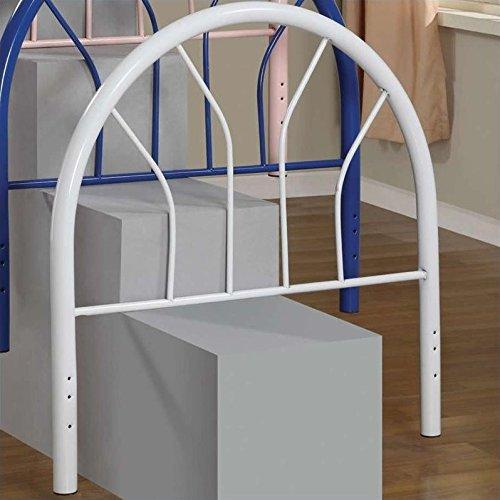 Coaster Home Furnishings 2366WT Contemporary Twin Headboard, White