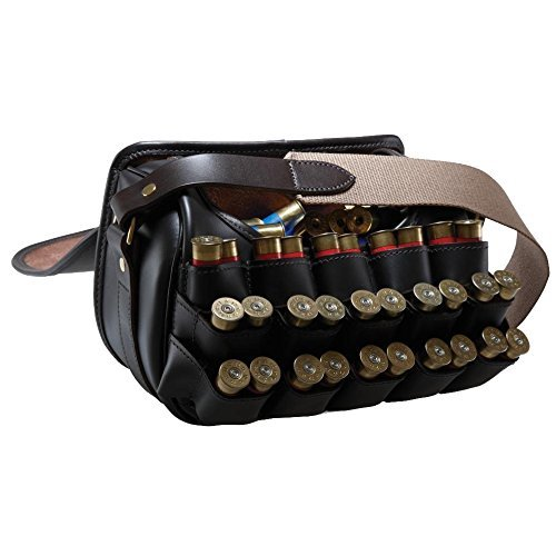 Croots Loaders Bag Byland Leather 150 cartridge capacity Shooting bag by Croots
