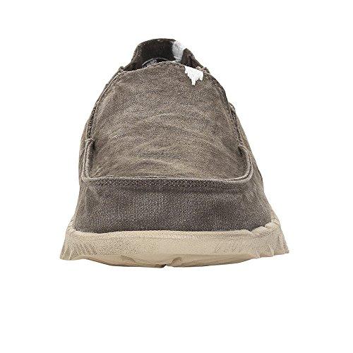 Dude Shoes Hey Men's Farty Washed Mud Slip On/Mule UK11/EU45