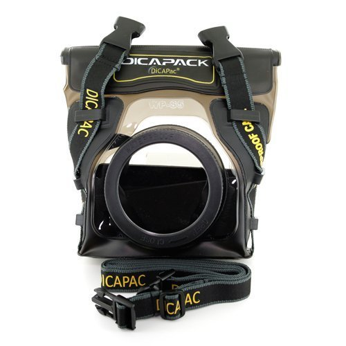 DiCAPac WP-S5 Waterproof Case for Digital SLR Cameras (Dicapac Waterproof Dslr Camera Case Wp S10)
