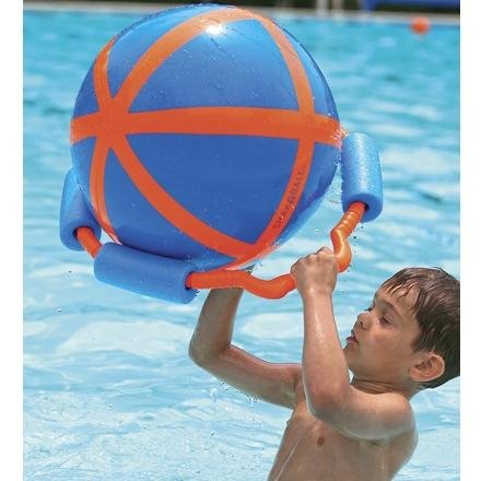 Kids Outdoor Fun Pool Boys Girls Beach Smakaball Set Orange Blue