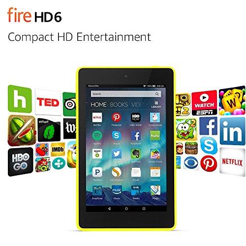 Fire HD Tablet Display Wi Fi