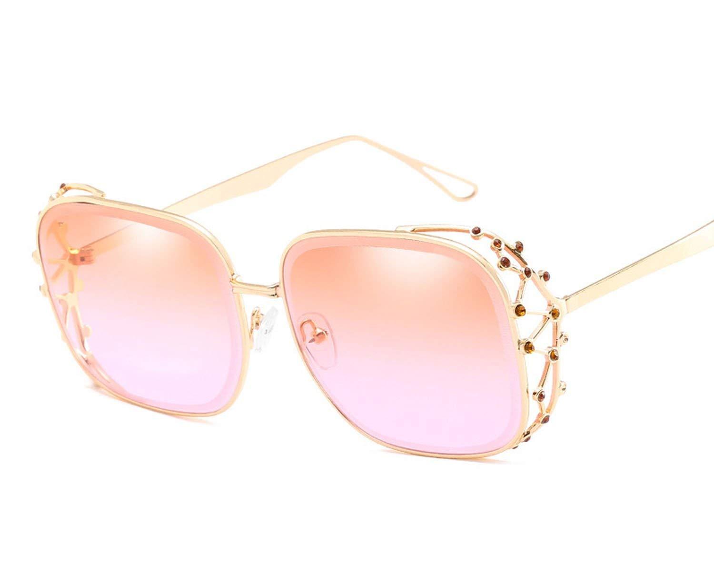 Gafas de Sol Unisex, diseño de Diamante de polígono: Amazon ...