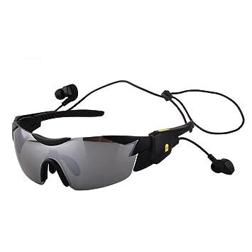 JIAAE Deportes Outdoor Gafas De Sol Polarizadas 4.1 Bluetooth Smart Multifuncional Montar A Caballo Anti-