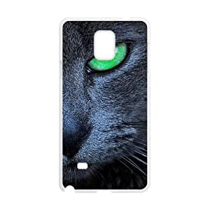 Clzpg High-quality Samsung Galaxy Note4 Case - Black Cat diy cover case