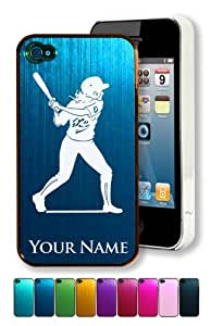 Engraved Aluminum iPhone 6 plus 5.5 Case/Cover - WOMAN SOFTBALL PLAYER - Personalized for FREE (Click the CONTACT SELLER link after purchase to tell us your case color and engraving request)