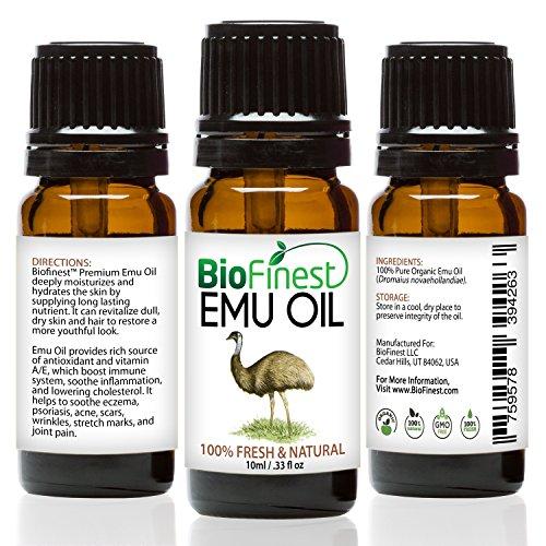 BioFinest Emu Organic Oil Strengthened
