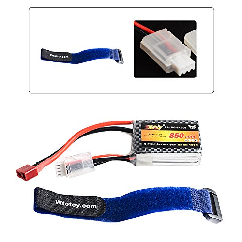 OLSUS 850mAh 11.1V 35C 3S Lipo Battery Pack for RC Hobby by OLSUS