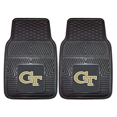 - Fanmats 8777 Georgia Tech Vinyl Universal Heavy Duty Fan Floor Mat